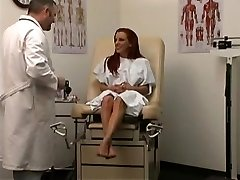 Therapist uses a machine to cure his patient 1
