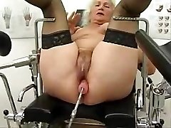 Grandmother Norma Works Out On A Fucky-fucky Machine