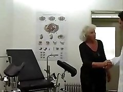 Granny Norma Works Out On A Bang-out Machine