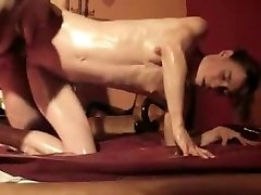 lube all over their bodies, husband and wife