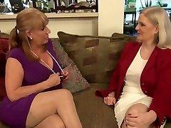two scorching lesbi-moms