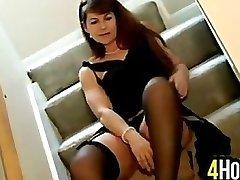 Milf Does A Striptease