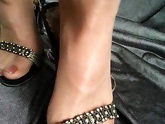 Tights Feet Shoeplay