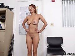 Latina Milf First Porno Shoot