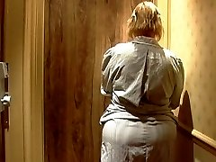 Mature french maid with Ginormous bum