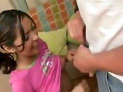Babysitter porks dad while mummy is at work