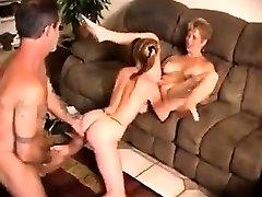 Couple fucks the nanny lustily
