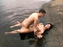 mom and NOT her son penetrate on the lake
