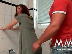 MMV Films Redhead German Mature likes fuck-stick