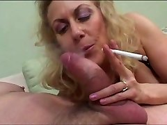 Grannie Oral and Smoking