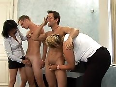 What is the Name of the Blonde Czech CFNM Chubby MOTHER I'D LIKE TO FUCK ?