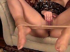 olivia jayne stockings play