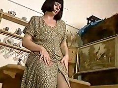 Mature women tights