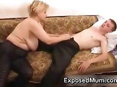 Elegant mummy in negro pantyhose adores part3