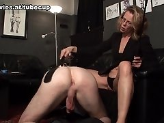 Marga in Caught And Treated By His Domina - FunMovies