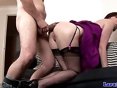 European glamour mature doggystyle drilled