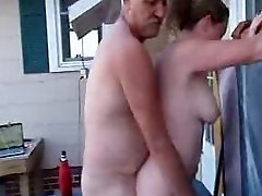 My Chief Pounds My Wife In the Outdoor Spa