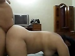 Desi aunty humped by her manager