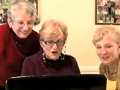 Grannys see sex video - very funny