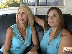 These slutty cougars prove that it's never too late to attempt p