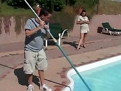 MILF Tempts the Pool Boy - Cireman
