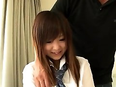 Miku Airi is a super-steamy schoolgirl in need for a mature sausage