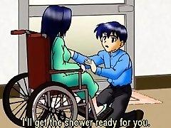 Buxomy anime mom hot railing dick