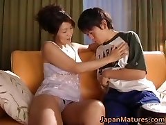 Sexually Excited japanese mature babes sucking part2