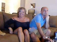 British couple on web cam