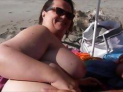 Stranger on the beach, just for me