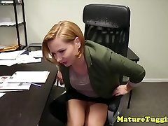 Office stepmom jerking pervert stepsons stiffy
