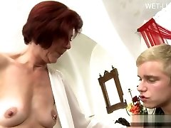Big-titted gf tittyfuck
