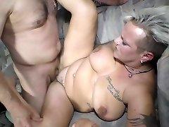 Deutschland Report - 40+ German slut Judith S. gets fucked and jizz facialed