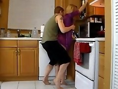 Humping Mommy In The Kitchen