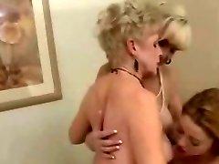 2 Mature Ladies & 1 Taut Lesbians