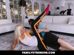 Workout Step Mom Fucked by Sonnie