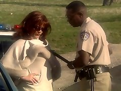 Redhead COUGAR Marilyn Chambers ravaging police