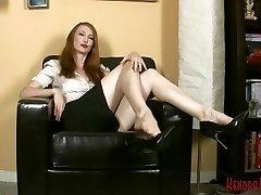 Kendra James - Shoe Drape