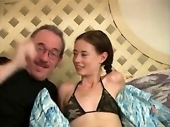 Petite Tits Skinny Hairy Poked By Mature Man,By Blondelover