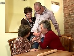 Granny GRANNY and granny penetrated by young fellow