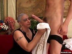 Grannie Enjoys Big Dick