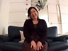 Japanese BBW Granny Internal Cumshot sanae arai 52years