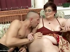 Naughty old and young couples at pissing gangbangs