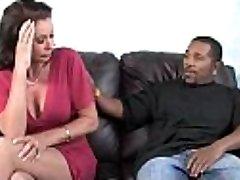 Horny mom likes dark monster cock 8