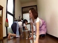 Japanese Mommy In Law Rides Boy
