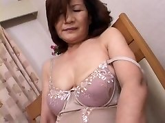 Mature Japanese Getting Off