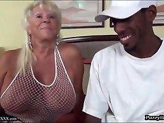 72 year old Grandma Craves Large Black Schlong