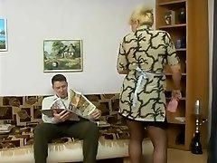 old maid & lad-friend