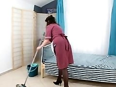 guy fuck hirsute mature maid