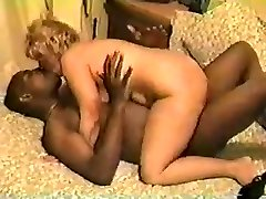White Wife pummeling hung black male
